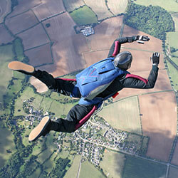 Skydiving, extreme sports and life insurance.