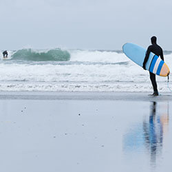 Surfing, extreme sports and life insurance.